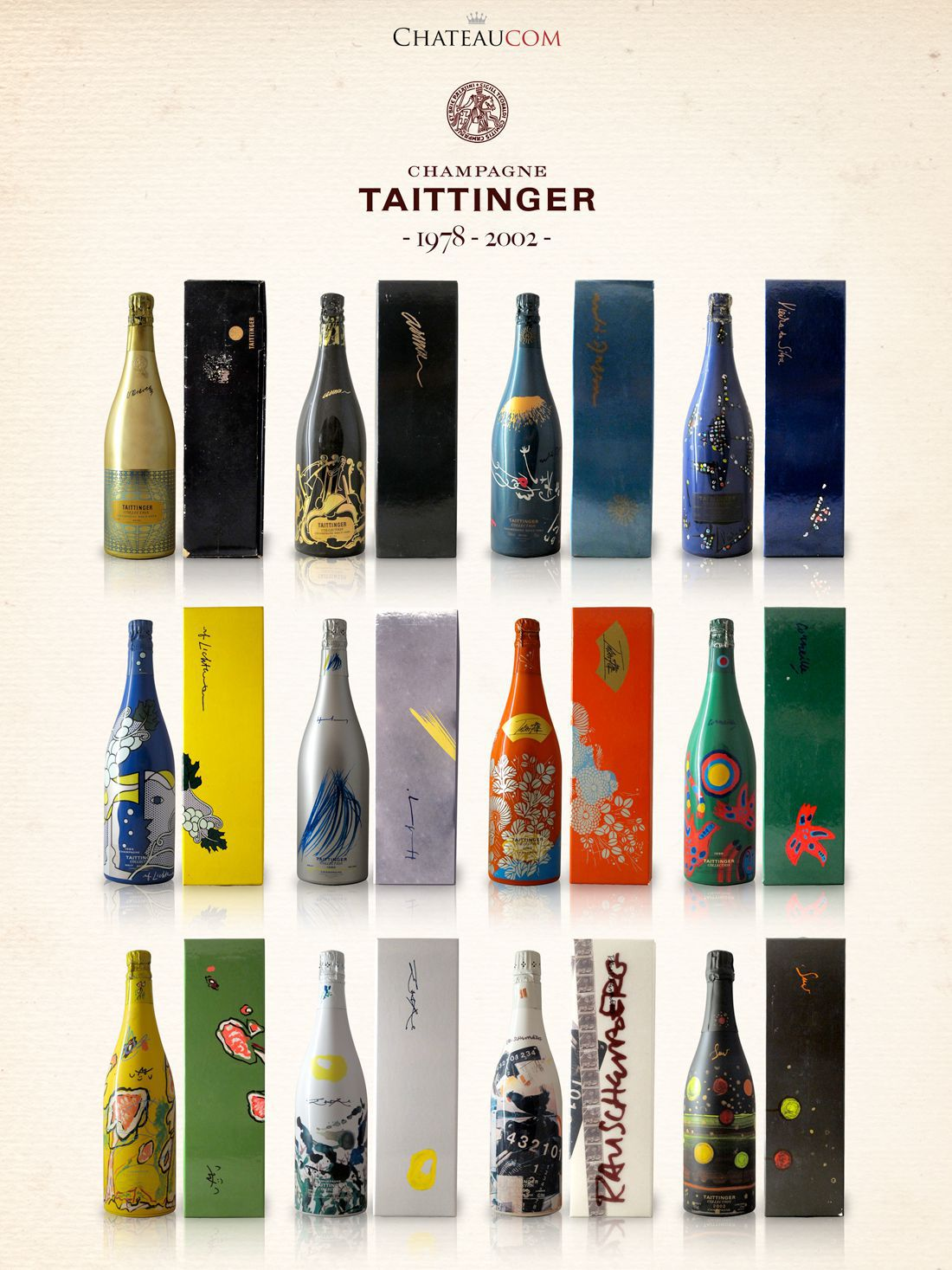 Collection Taittinger 1978-2002