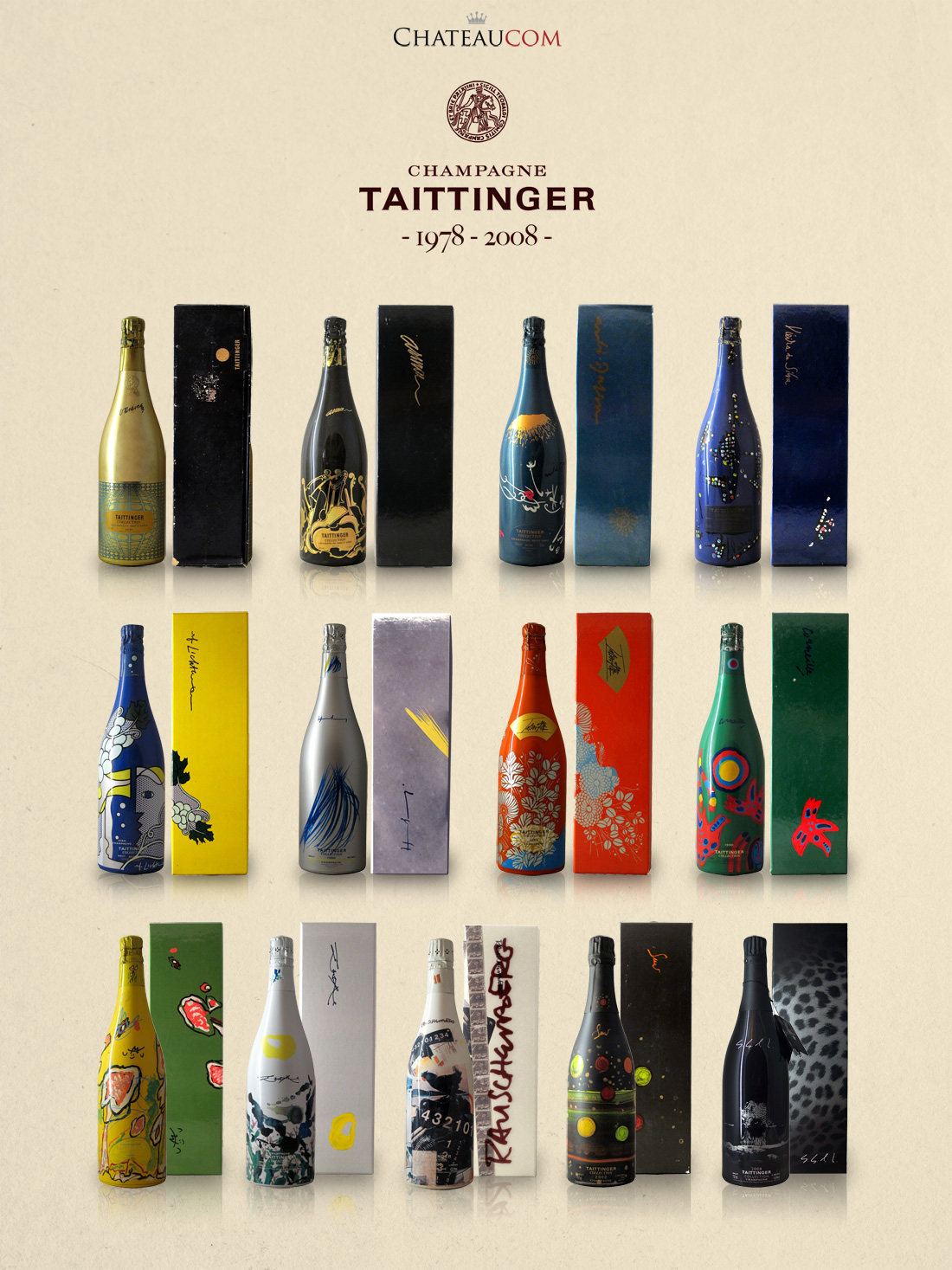 Collection Taittinger 1978-2008