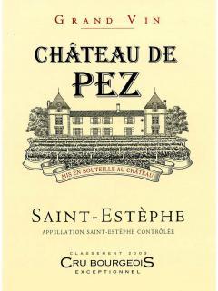 Château de Pez 2018 6 바틀 오리지널 나무 케이스 (6x75cl)