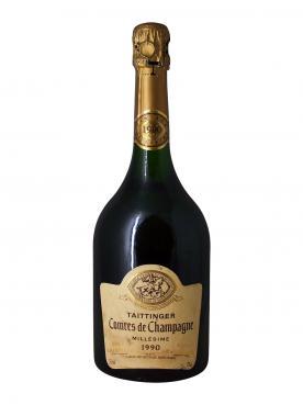 샴페인 테탱제 콩트 드 샹파뉴 블랑 드 블랑 브뤼  1990 바틀 (75cl)
