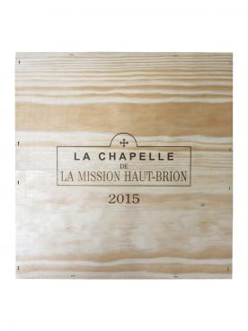 라 샤펠 드 라 미시옹 오-브리옹 2015 3 매그넘 오리지널 나무 케이스 (3x150cl)