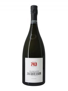 샴페인 자크송  Cuvée n°743 엑스트라 브뤼  밀레짐 없음  매그넘 상자(150cl)