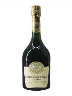 샴페인 테탱제 콩트 드 샹파뉴 블랑 드 블랑 브뤼  1979 바틀 (75cl)