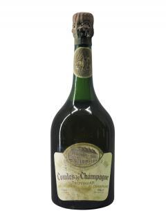 샴페인 테탱제 콩트 드 샹파뉴 블랑 드 블랑 브뤼  1966 바틀 (75cl)
