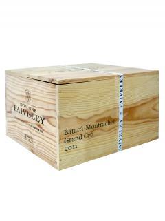 바타르-몽라셰 그랑 크뤼  도멘 페블레  2011 6 바틀 오리지널 나무 케이스 (6x75cl)